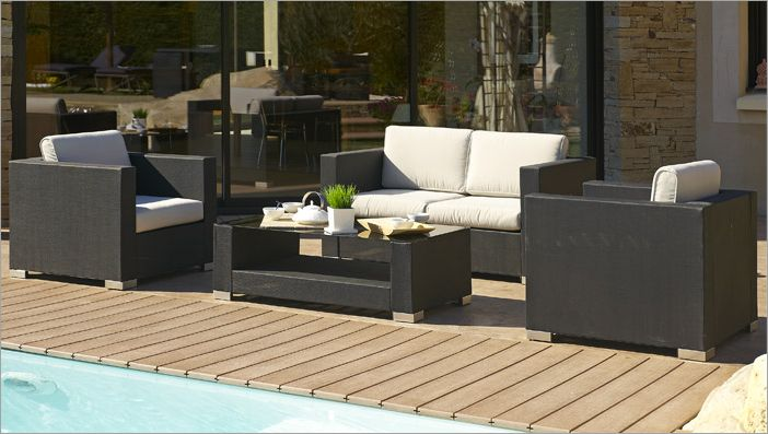Salon de jardin bricorama 2014 for Faire une table salon de jardin