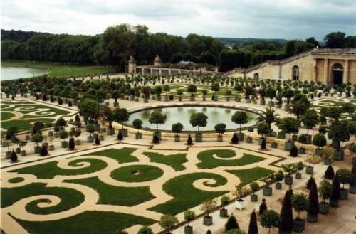 Jardins à la française - Versaille