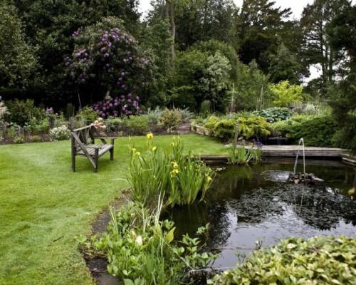 Diff rences entre le jardin l anglaise et le jardin la for Jardin a l anglaise photos
