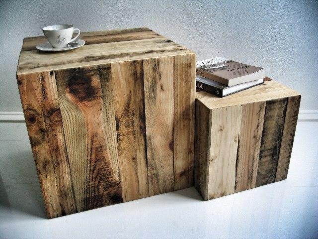 Les meubles en palette de récupération - Maison & Jardin
