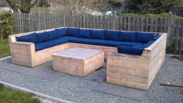 Fabriquer une chaise longue de jardin avec des palettes - Maison ...
