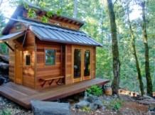 La tiny house : savoir vivre avec le nécessaire, et voyager !