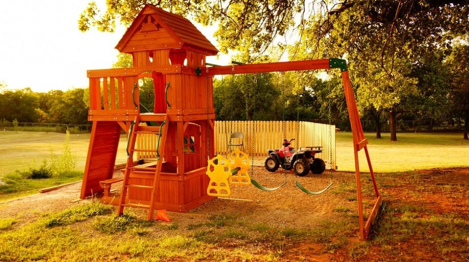 Aménager une aire de jeux en extérieur