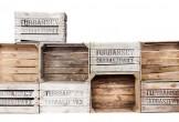Chez l'Art de la caisse, découvrez des caisses à fruits de diverses tailles