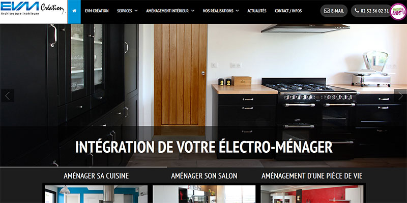 EVM Création : l'architecture d'intérieure à la française